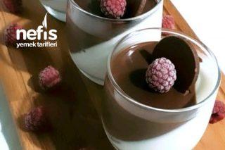 Çikolatalı Pannacotta Tarifi