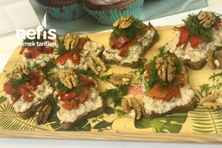 Etimekli Köz Patlıcan Biber Salatası Tarifi