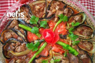 Patlıcanlı Yelpaze Kebabı Tarifi