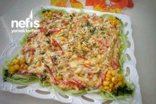 Tavuklu Kabak Salatası Tarifi