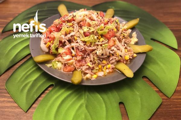 Ton Balığı Salatası (Diyet Salatası) Tarifi