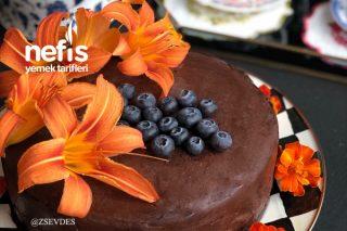 Yumuşacık Pandispanyası İle Ganaj Kaplı Nefis Kremalı Pasta Tarifi