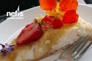 Rabarber (Ravent) Cheesecake Tarifi