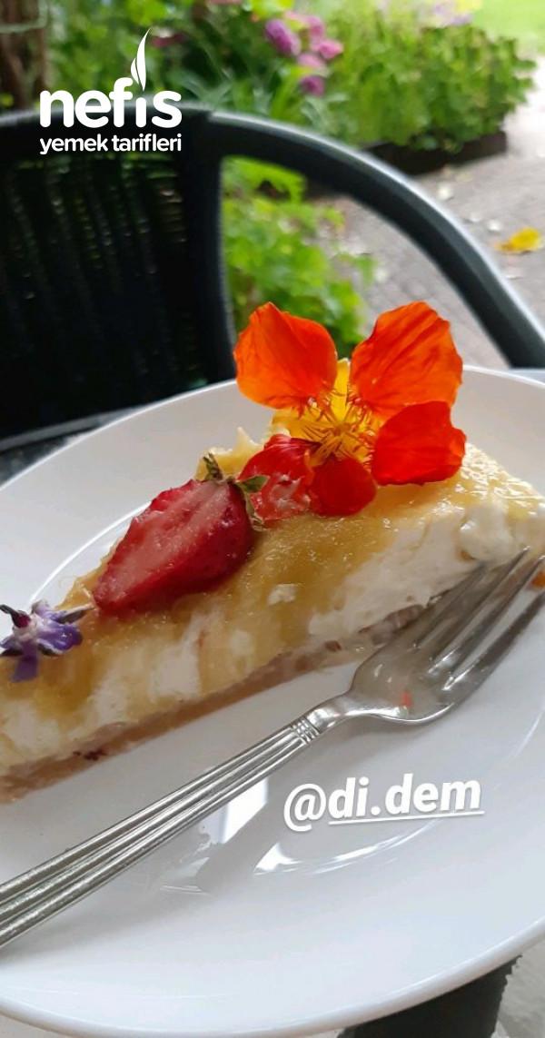 Rabarber (Ravent) Cheesecake