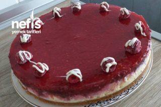 Frambuazlı Çiz Kekim Mutlaka Denemelisiniz (Cheesecake) Tarifi