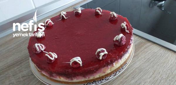 Frambuazlı Çiz Kekim Mutlaka Denemelisiniz (Cheesecake)