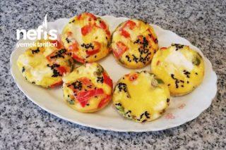 Kahvaltıda Unsuz Yumurtalı Cup Tarifi