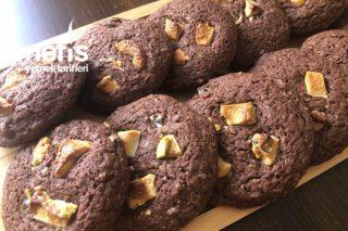 10-15 Dakikada Hazırla 10 Dakikada Pişir-Çikolatalı Cookie Tarifi