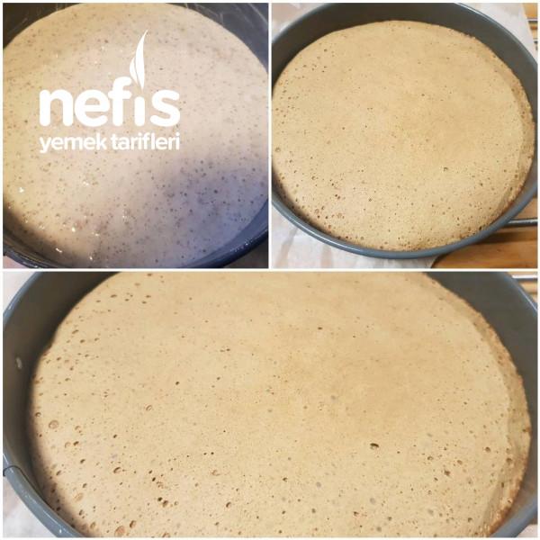 Bademli Çilekli Pasta