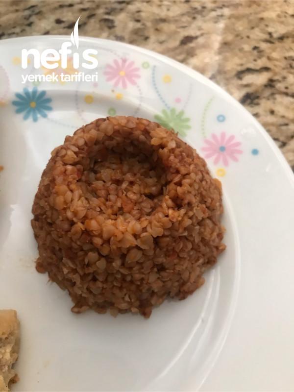 Domatesli Greçka (Karabuğday) Pilavı