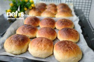 Hamburger Ekmeği (24 Adet) Tarifi