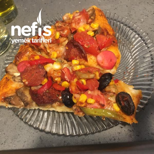 Lezzeti Hamurunda Domino's Tadında Pizza