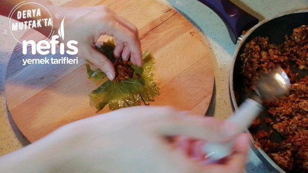 Zeytinyağlı Yaprak Sarması(videolu)