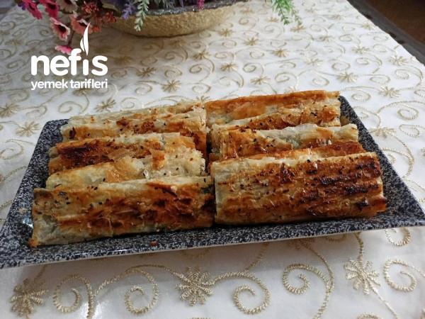 Çıtır Çıtır, Peynirli, Ispanaklı Börek,(Baklava Yufkasıyla)