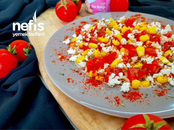 Hafif Ton Balığı Salatası (Tek Kişilik)