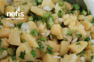 Kolay Ve Pratik Patates Salatası Tarifi