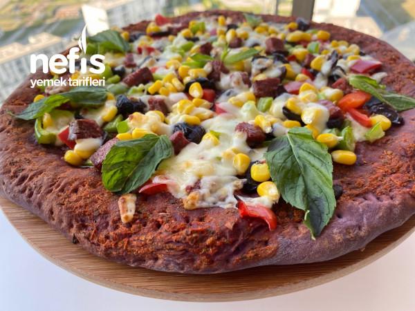Purple Pizza – Mor Unla Mükemmel Pizza