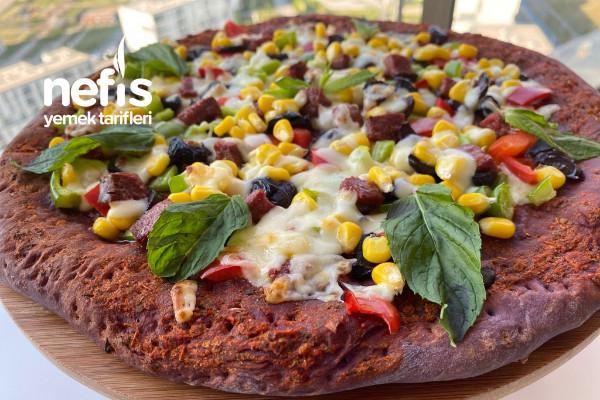 Purple Pizza – Mor Unla Mükemmel Pizza Tarifi