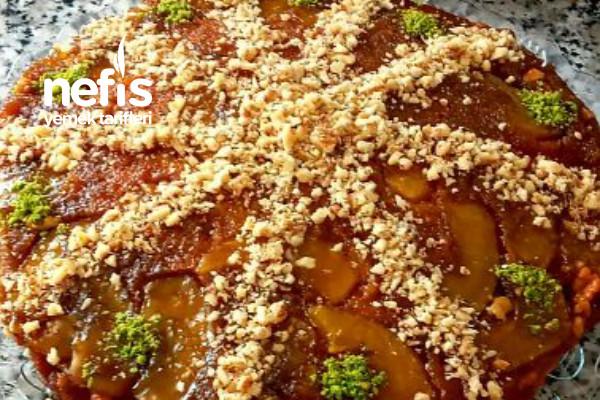Ters Yüz Kek (Elmalı) Tarifi