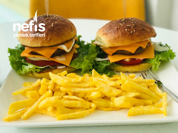 Whopper Menü. Hamburger