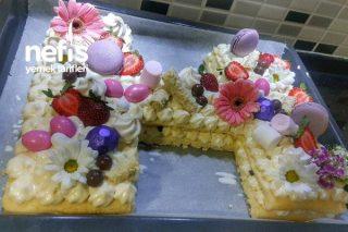 25 Kişlik Enfes Harf Pasta Tarifi