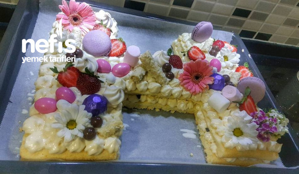 25 Kişlik Enfes Harf Pasta
