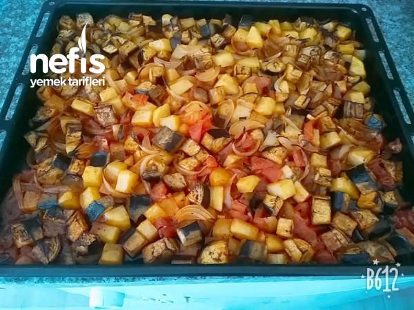 Artan Sebzelerden Sağlıklı Fırın Sebze