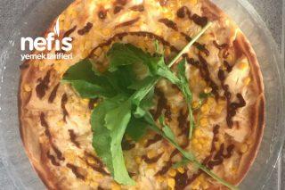 Barbekü Soslu Tavuklu Pizza Tarifi