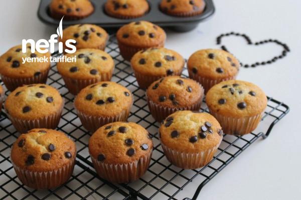 Damla Çikolatalı Muffin ( Pamuk gibi Yumuşacık)