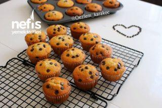 Damla Çikolatalı Muffin (Pamuk Gibi Yumuşacık) Tarifi