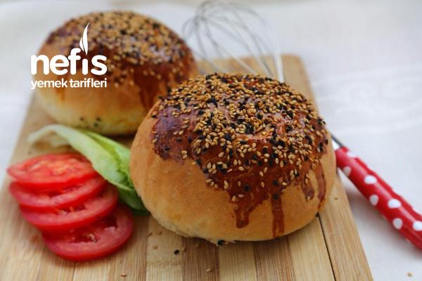 Ev Yapımı Hamburger Ekmek Tarifi