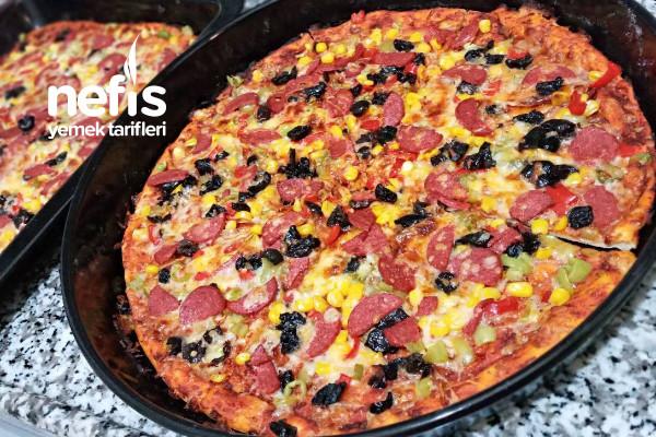 Ev Yapımı Lezizmi Leziz Pizza Tarifi