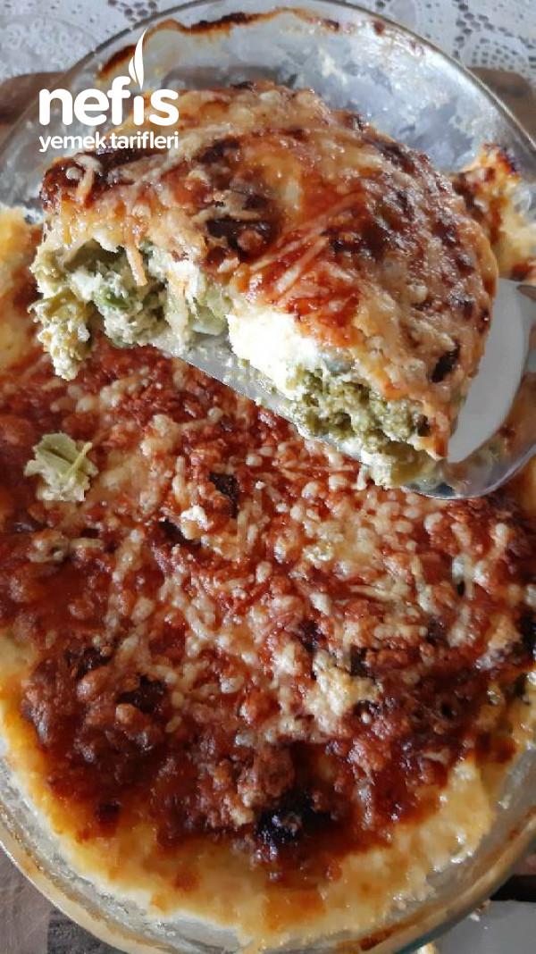Fırında 3 çeşit peynirli Brokoli Graten(mozarella, kaşar, peynir)