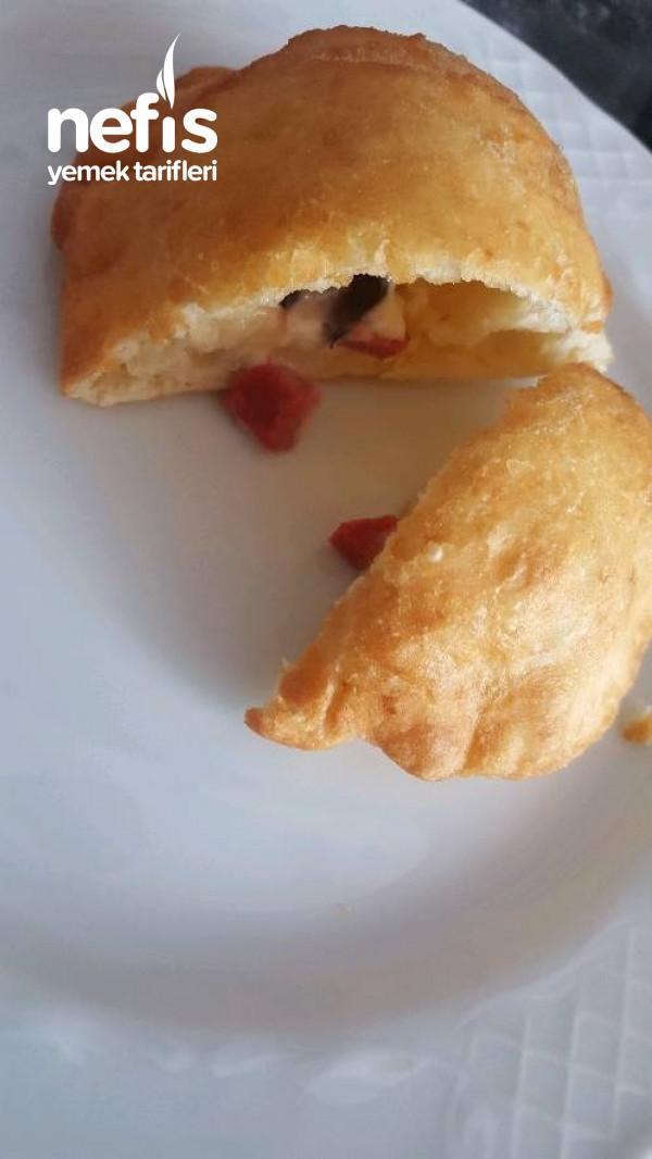 Kahvaltılık Bol Malzemeli Pişi