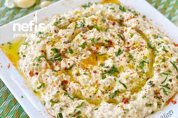 Mütebbel (Tahinli Patlıcan Salatası) Tarifi