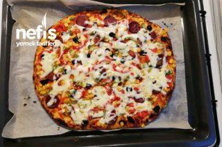 Yumuşacık Ev Pizzası (Deneyenler Bayılıyor ) Tarifi