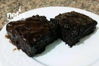 Brownie Tadında Çikolata Soslu Yeşil Kabaklı  Kek (Bayılacaksınız) Tarifi