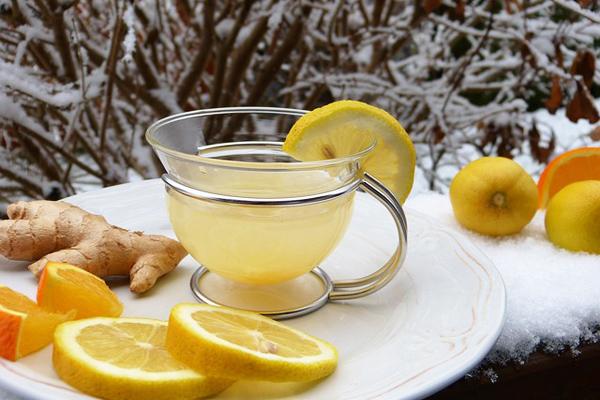 ballı limonlu sıcak su