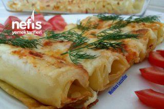 Peynirli Börek Tadında Beşamel Soslu Porsiyonluk Lazanya Tarifi