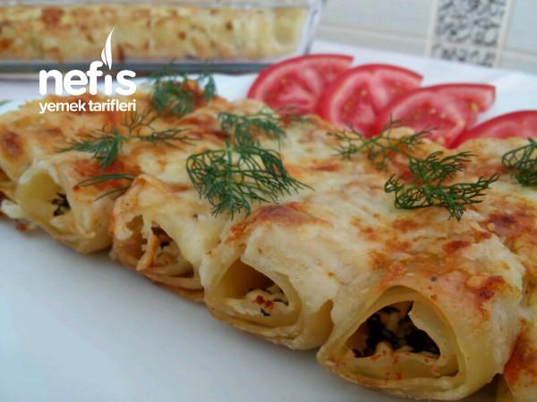 Peynirli Börek Tadında Beşamel Soslu Porsiyonluk Lazanya