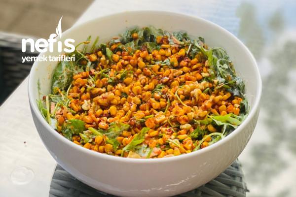 Yoğurtlu Roka Salatası Tarifi