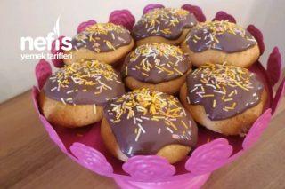 Çikolata Soslu Muz Aromalı Pop Kek Tarifi