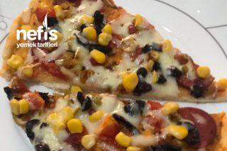 Evde Yumuşacık Pizza Tarifi