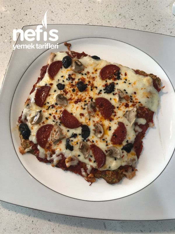 Kabak Tabanlı Yulaf Ezmeli Pizza