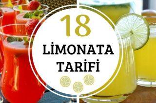 Limonata Tarifleri: Yaz Sıcaklarına Birebir 18 Farklı Tat Tarifi