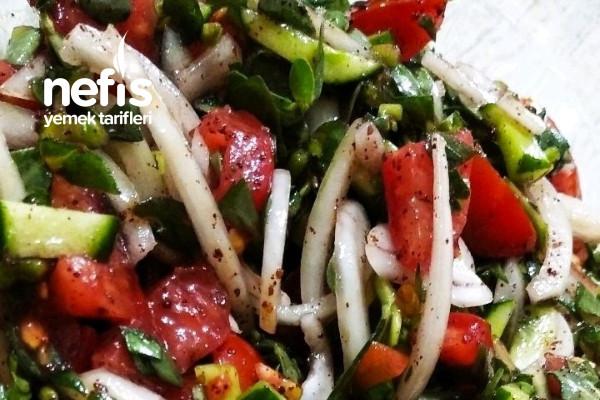 Semizotu Salatası (Pirpirim Salatası) Tarifi