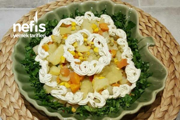 Değişik Patates Salata Tarifi