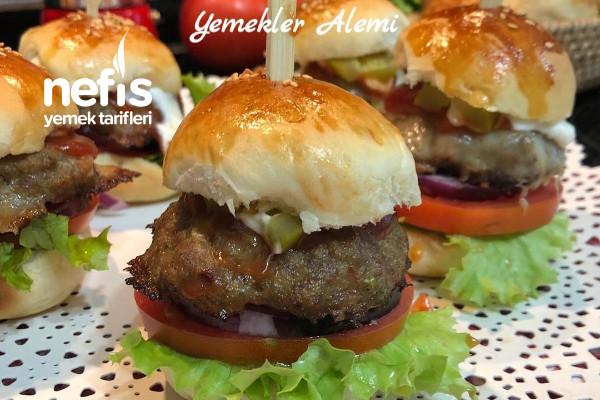 Evde Mini Hamburger