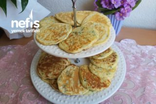 Kahvaltılık Tuzlu Pankek Tarifi