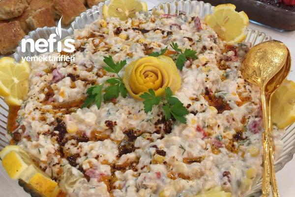 Köz Sebzeli Buğday Salatası Tarifi